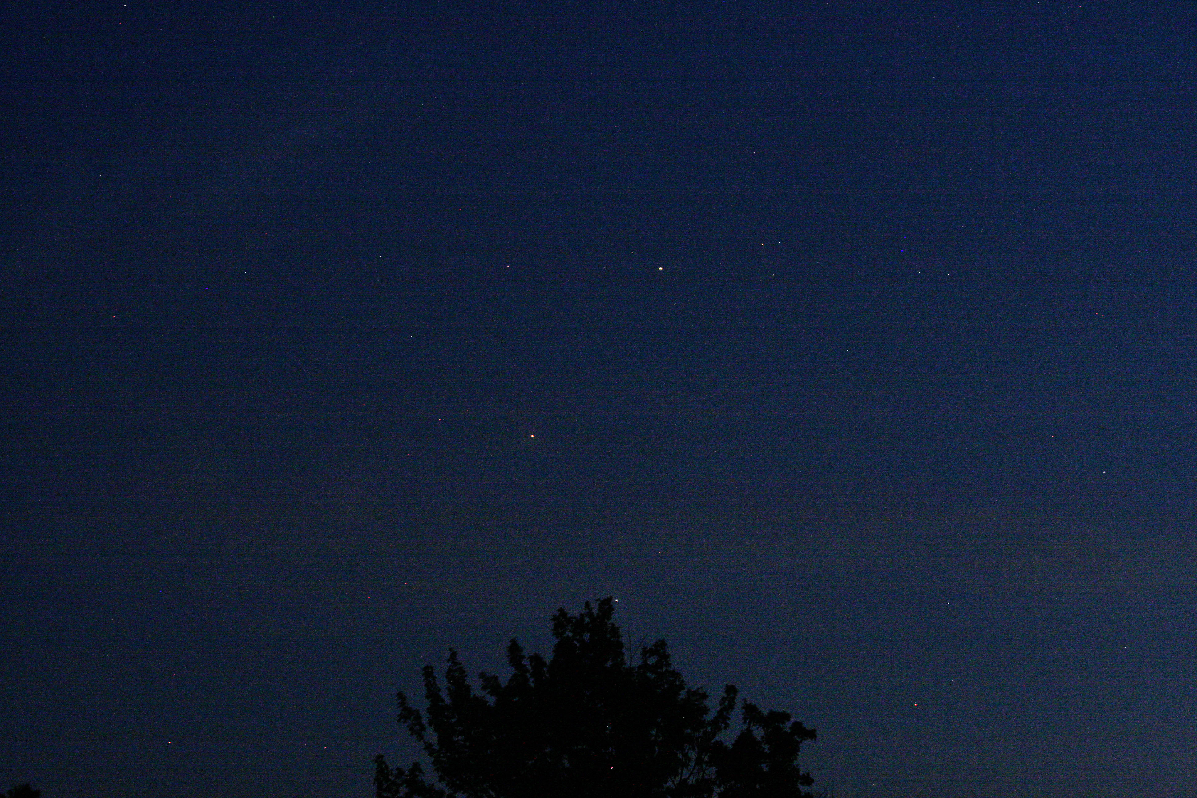 Mars and Saturn-Spica_8-16-12